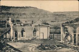 CPA Mont-Saint-Remy Zerstörte Stadt WK1 Combres Höhe 1914 - Francia