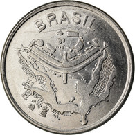 Monnaie, Brésil, 50 Cruzeiros, 1981, TTB, Stainless Steel, KM:594.1 - Brazil