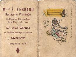GERMAINE BOURRET . 1939 . ANNECY - Calendarios