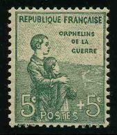 FRANCE - YT 149 * - ORPHELINS - 1 TIMBRE NEUF * - Nuovi