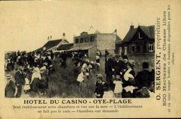 62 Oye Plage - Hôtel Du Casino / A 662 - Oye Plage