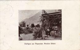 1679/ Därlingen Am Thunersee. Pension Schärz, 1920 - BE Berne