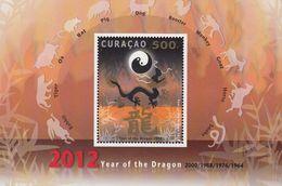 Antilles/Curacao  2012 Year Of The Dragon  Michel  Bl.5  MNH 27951 - Antillas Holandesas