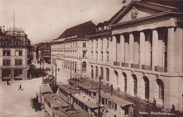 1681/ Aarau,, Bahnhofstrasse, Met Treinen? Trams?  1923 - AG Argovia