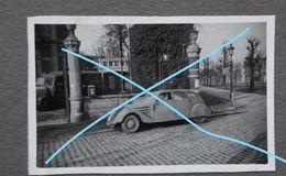 Photox6 MONS PEUGEOT Automobile Réquisition Officier Allemand Occupation Rue Dolhez ? Wehrmacht WW2 - Lieux
