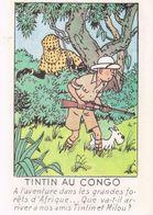 CPM TINTIN - AU CONGO - ED. ARNO 47 - Stripverhalen