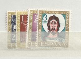 1961 MNH Spain, Postfris** - 1961-70 Ungebraucht