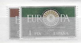 1960 MNH Spain, Europa Postfris** - 1951-60 Ungebraucht