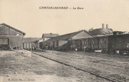 CPA-13-CHATEAURENARD-La Gare - Chateaurenard