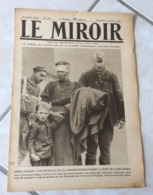 Le Miroir - Guerre 1914/1918 - Hebdomadaire N°267 - 5.1.1919 - Complet 16 Pages - Le Monde En Guerre - - Guerre 1914-18