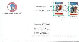 France. Souvenir Français. Lot De 2 Oblitérés Sur Enveloppe. Envoi France 0,95 €. Europe 1,40 €. - Personalisiert (MonTimbraMoi)