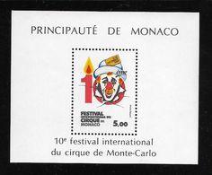 MONACO ( MCBF - 73 )  1984  N° YVERT ET TELLIER  N° 29   N** - Blocks & Sheetlets