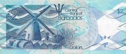 BARBADOS P. 73c 2 D 2017 UNC - Barbados