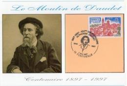 Alphonse Daudet Fontvieille TAD Du Centenaire 4 05 1997 - Cartes-Maximum