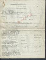 MILITARIA LOT DE DOCUMENTS 1er BATAILLON DE CHASSEURS À PIED ETAT DE SERVICE DE PAPILLON JEAN DÉSIRÉ ST GERMAIN EN LAYE - Dokumente