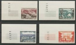 AEF Série FIDES N°232 à 235 Non DENTELES Neuf Luxe ** Coins De Feuille H2535 - France (ex-colonies & Protectorats)