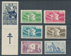 Colonie Timbres De Solidarité N°60 à 66 Neuf ** K57 - France (ex-colonies & Protectorats)