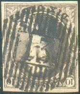 N°3 Médaillon 10 Centimes Brun, Superbement Margé EtSplendide Frappe. D.13 DOUR -Superbe - 15741 - 1849-1850 Médaillons (3/5)