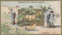 Agriculture - Gastronomie - Fruits Sous Cloche -  Jardinier - Melon - Chromo Publicité Chocolat Félix Potin - Culturas