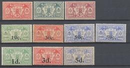Colonies Françaises Nlles HEBRIDES N°70 à 79 N** Et N*. Cote 125 € N2574 - Collections, Lots & Series