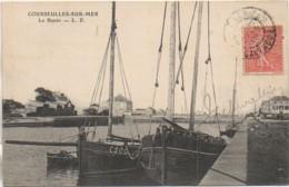 14 COURSEULLES-sur-MER   Le Bassin - Courseulles-sur-Mer