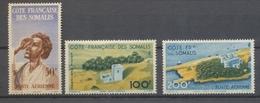 1947 Colonies Françaises Cote Des Somalis Poste Aérienne N°20 à 22 N* N3078 - Côte Française Des Somalis (1894-1967)