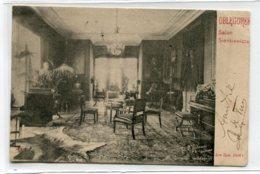 POLOGNE OBLEGOREK  Carte RARE  Salon Sienkiewicza   écrite En 1903   D16 2020 - Pologne