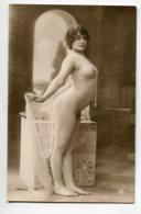 NU French Charm 123 Jean  AGELOU JA Série 64 Jeune Femme Nue Orie,talisme Tres Cambrée   Reins Fesses Voile  EROTISME - Fine Nudes (adults < 1960)