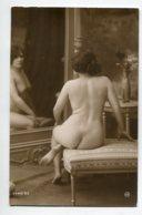 NU French Charm 128 Jean  AGELOU JA Série 93 Jeune Femme  Nue Regardant Son Reflet Dans Miroir EROTISME - Fine Nudes (adults < 1960)