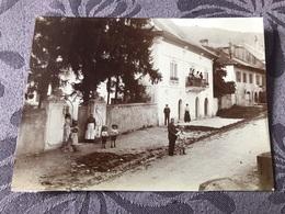 PHOTO ANCIENNE 1903 / BONNE En HAUTE SAVOIE 74 - SCENE DE RUE - Antiche (ante 1900)