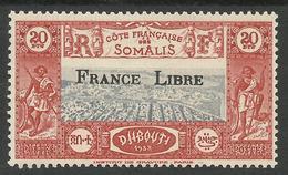 COTE FRANCAISE DES SOMALIS 1942 YT 232** - SANS CHARNIERE NI TRACE - Côte Française Des Somalis (1894-1967)