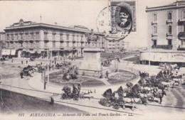 4812343Alexandria, Mehemet Ali Place And French Garden. - Alejandría