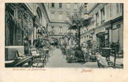ITALY -  NAPLES  -  Grand Hotel Le Jardin D'hiver - Unused Undivided Rear - Napoli
