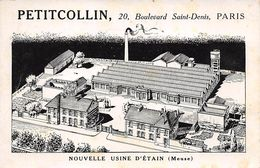 55 - N°111335 - Etain - Petitcollin - Nouvelle Usine D'Etain - Etain