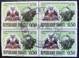 Haïti - A1/16 - (°)used - 1983 - 100 Jaar Lid Van De UPU - Haiti