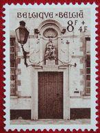 8Fr+4Fr Béguinage De Bruges 1954 OBP 950 (Mi 999) POSTFRIS/MNH ** BELGIE BELGIUM - Unused Stamps