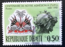 Haïti - A1/17 - (°)used - 1983 - 100 Jaar Lid Van De UPU - Haiti