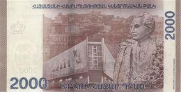 ARMENIA P. NEW  2000 D 2018 UNC - Arménie