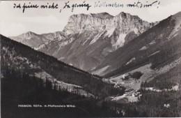 4812673Prebichl, M. Pfaffenstein. – 1933. (foto Karte)(sehr Kleines Falte Im Ecken) - Vordernberg