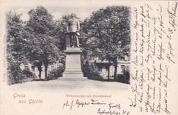 4812692Gruss Aus Görlitz, Wilhelmsplatz Mit Roondenkmal. 1902. - Colditz