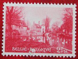 2Fr+1Fr Béguinage De Bruges 1954 OBP 947 (Mi 996) Ongebruikt/MH BELGIE BELGIUM - Unused Stamps