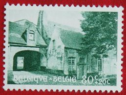 80c+20c Béguinage De Bruges 1954 OBP 946 (Mi 995) Ongebruikt/MH BELGIE BELGIUM - Unused Stamps