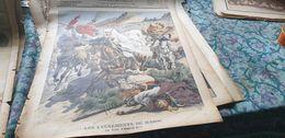 P.J 08/ MAROC FUITE ABD EL AZIZ / LONDRES MANIFESTATION SUFFRAGETTES - Le Petit Journal