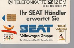 Télécarte ALLEMAGNE -12 DM - SEAT - Andorre