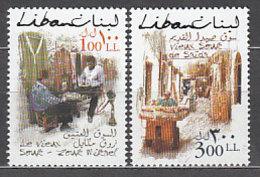 Libano - Correo Yvert 372/3 ** Mnh  Zocos - Liban