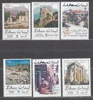 Libano - Correo Yvert 377/82 ** Mnh Zocos - Liban