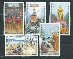 Laos - Correo 2001 Yvert 1419A/E ** Mnh - Laos