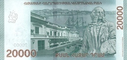 ARMENIA P. NEW 20000 D 2018 UNC - Arménie