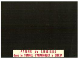 (A 24) France - Black Card - Carte Noire (panne De Lumière Dans Le Tunnel) - Humor