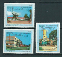 Kampuchea - Correo Yvert 854/6 ** Mnh - Kampuchea
